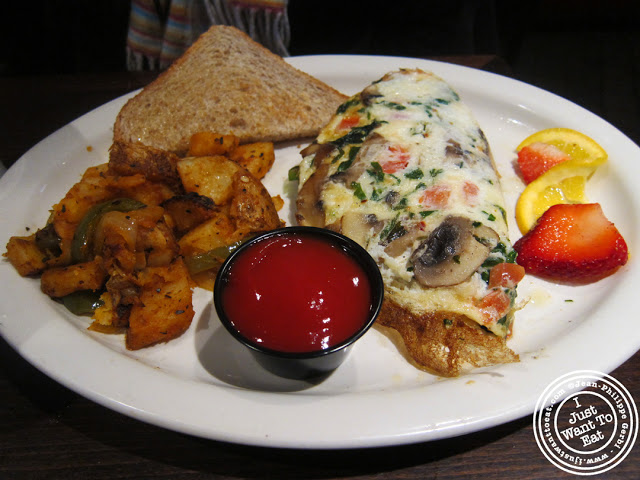 Image of Egg whites omelet at Hoboken Bar and Grill in Hoboken, NJ