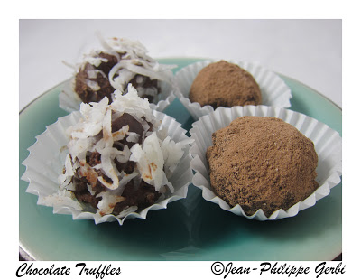 Image of Chocolate truffles recipe