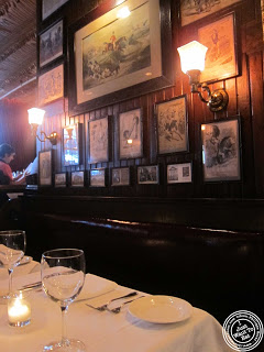image of Keens Steakhouse in NYC, New York