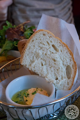 image of Bread and butter at Maison French Brasserie, NYC, New York