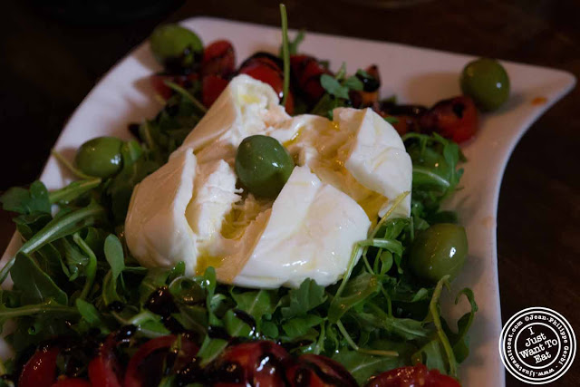 Image of Burrata at San Matteo Pizza and Expresso Bar in NYC, New York