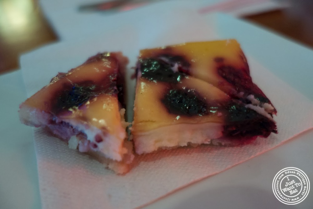 image of clafoutis at Faces and Names in Midtown NYC