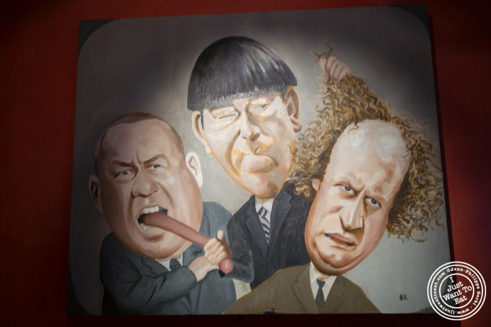 image of The Three Stooges at Faces and Names in Midtown NYC