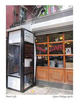 Image of Azuri Cafe in Hell's Kitchen NYC, New York