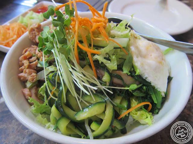 image of bibimbap at Bann Korean restaurant in NYC, New York