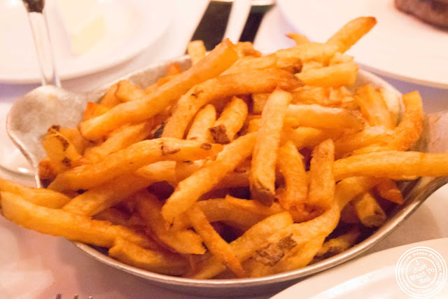 image of French fries at Keens Steakhouse in NYC, New York