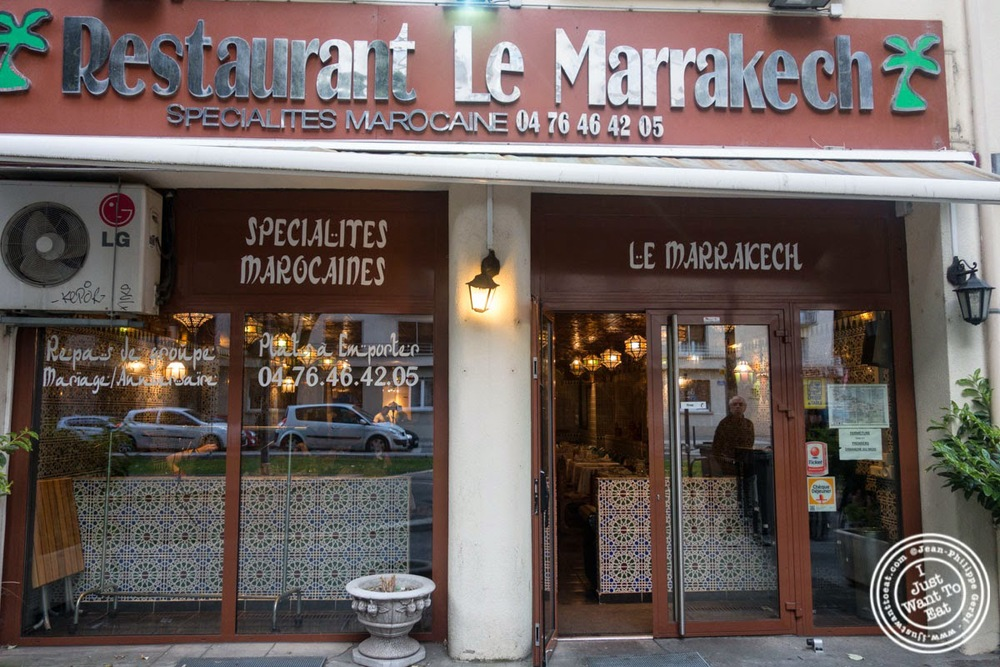My trip to europe le marrakech moroccan restaurant in grenoble france i just want to eat - Restaurant le garage grenoble ...