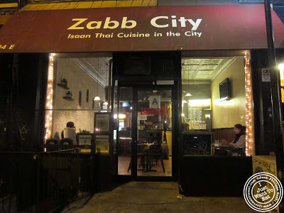 Image of Zabb City in the East Village NYC, New York