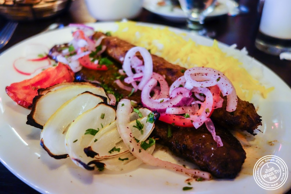 barg and koobideh at Parmys Persian Fusion in NYC, NY