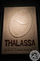 Image of Thalassa Greek restaurant in Tribeca NYC, New York