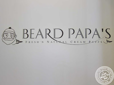 Image of Beard Papa's cream puffs in NYC, New York