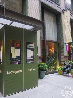 image of Incognito Bistro in NYC, New York