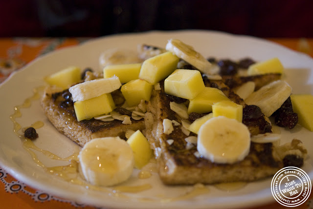 Image of Cuban French Toast at Zafra's in Hoboken, NJ