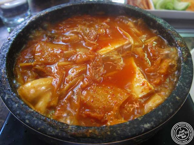 image of kimchi chi ge at Bann Korean restaurant in NYC, New York