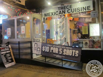Image of Trece Mexican Restaurant in NYC, New York