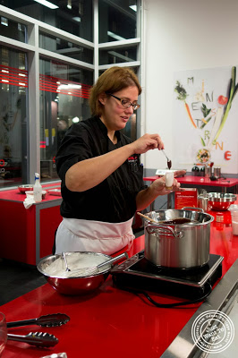 image of Christine at Cook & Go Culinary Studio in Chelsea, NYC, New York