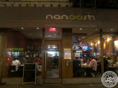 Image of Nanoosh Mediterranean Cuisine in Greenwich Village, NYC, New York