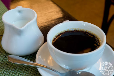 image of coffee at Maison French Brasserie, NYC, New York