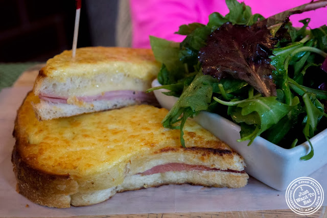 image of Croque monsieur at Maison French Brasserie, NYC, New York