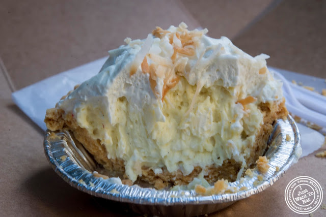 image of Coconut cream pie at Two Little Red Hens in NYC, New York