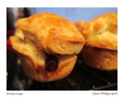 Image of Chocolate chip brioche recipe
