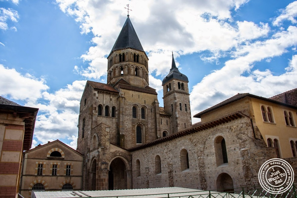 image of the abbey of Cluny, France