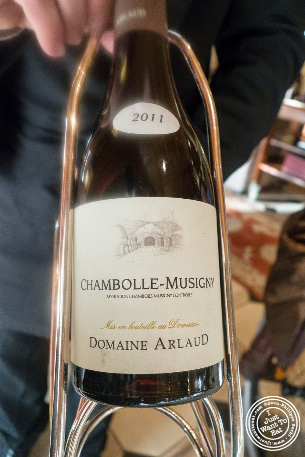 image of Chambolle-Musigny 2011 at Le Rempart in Tournus, France