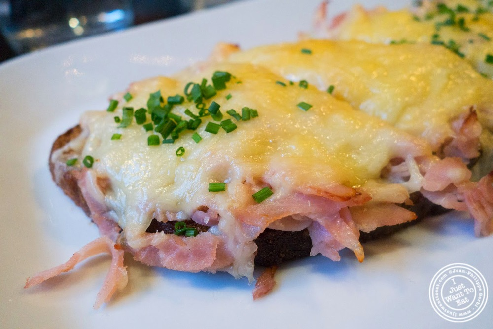image of Croque Monsieur at Tartinery in Nolita, NYC, New York