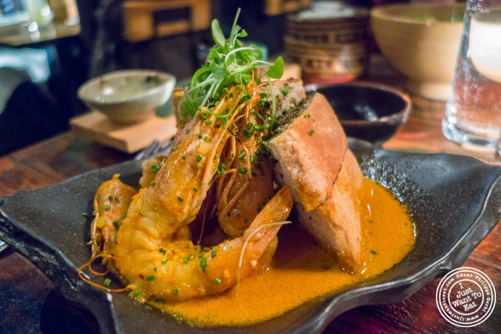 image of chili prawns at Khe-Yo in Tribeca, NYC, NY