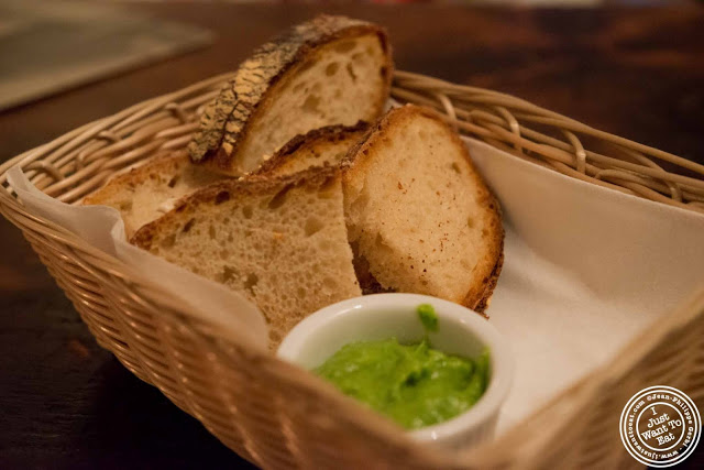 Bread at Abbottega, Italian Restaurant in NYC, New York