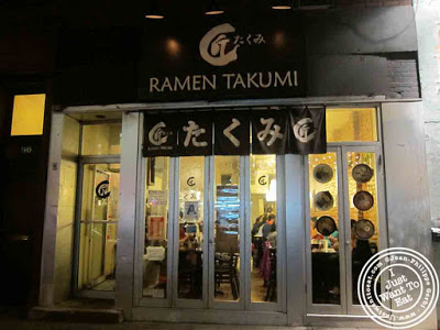 Image of Ramen Takumi in Greenwich Village NYC, New York