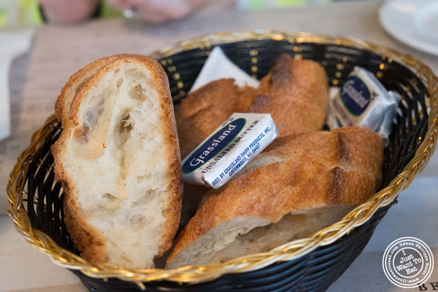 image of baguette bread at AOC - L'Aile Ou la Cuisse in NYC, New York