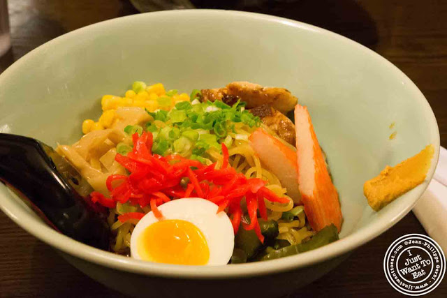 Image of Hiyashi Ramen-Nasu at Ramen Takumi in Greenwich Village NYC, New York