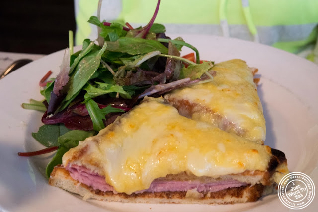 image of croque monsieur at AOC - L'Aile Ou la Cuisse in NYC, New York