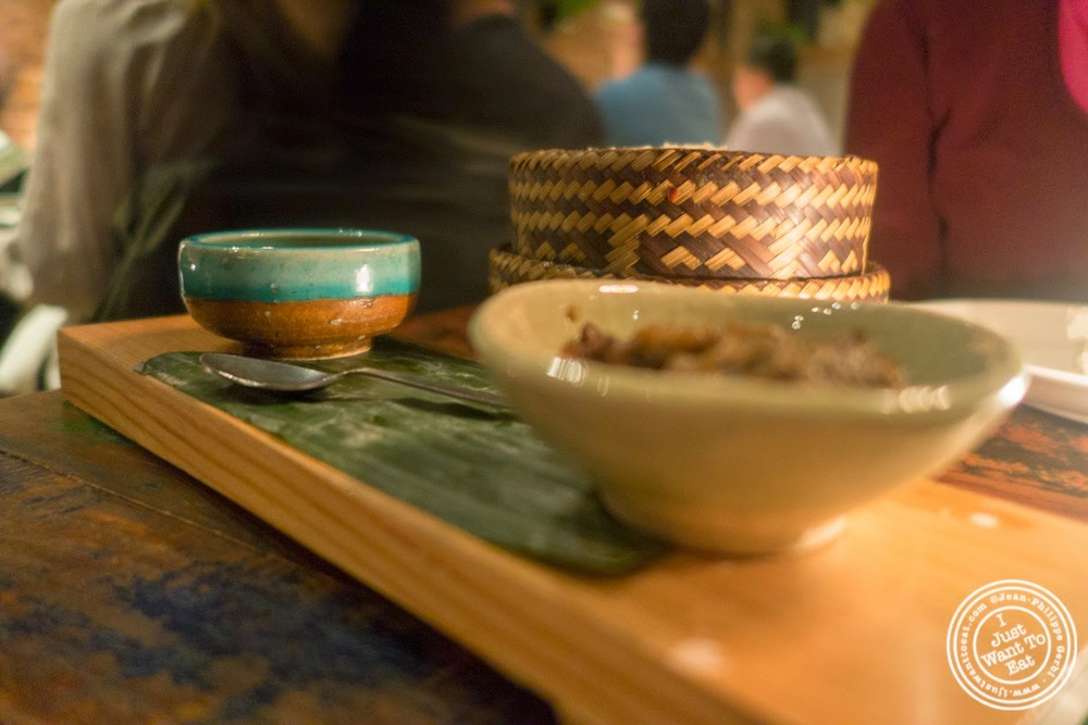 image of sticky rice at Khe-Yo in Tribeca, NYC, NY