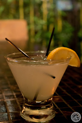 image of yuzu citron martini at Fushimi in Bay Ridge, Brooklyn, New York