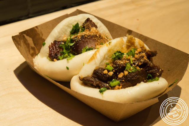 Image of Haus bao and Chairman bao at Baohaus in the East Village, NYC, New York