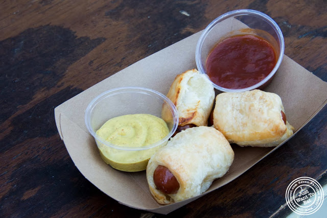 image of Pigs in a blanket from Brooklyn Piggies at Smorgasburg in Brooklyn, NY