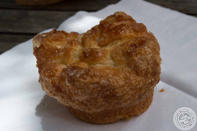 image of DKA or Dominique Kouign Aman at Dominique Ansel Bakery in NYC, New York