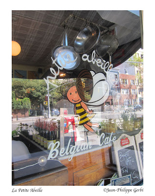 Image of La Petite Abeille in the West Village NYC, New York