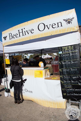 image of Beehive oven at Smorgasburg in Brooklyn, NY