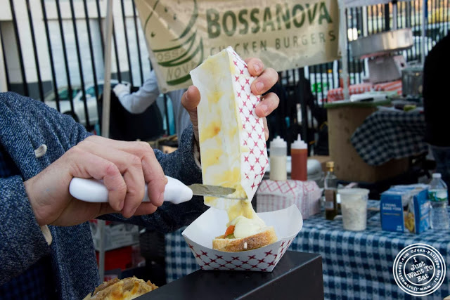 image of raclette pop from Cheese Pops at Smorgasburg in Brooklyn, NY