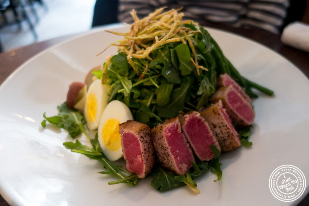 image of salade nicoise  at City Bistro in Hoboken, NJ