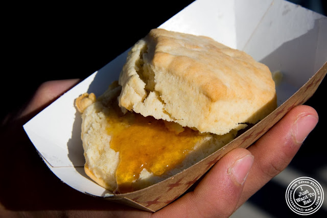 image of Biscuit from Beehive oven at Smorgasburg in Brooklyn, NY