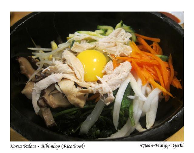 Image of Chicken Bibimbap at Korea Palace restaurant Midtown East NYC, New York