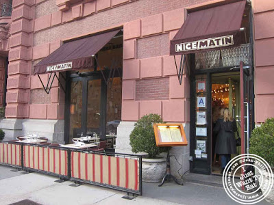 Image of Nice Matin on the Upper West Side in NYC, New York