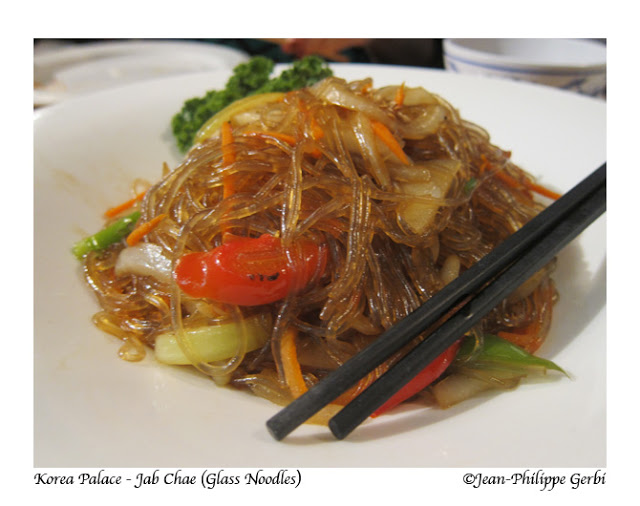 Image of Glass noodles at Korea Palace restaurant Midtown East NYC, New York