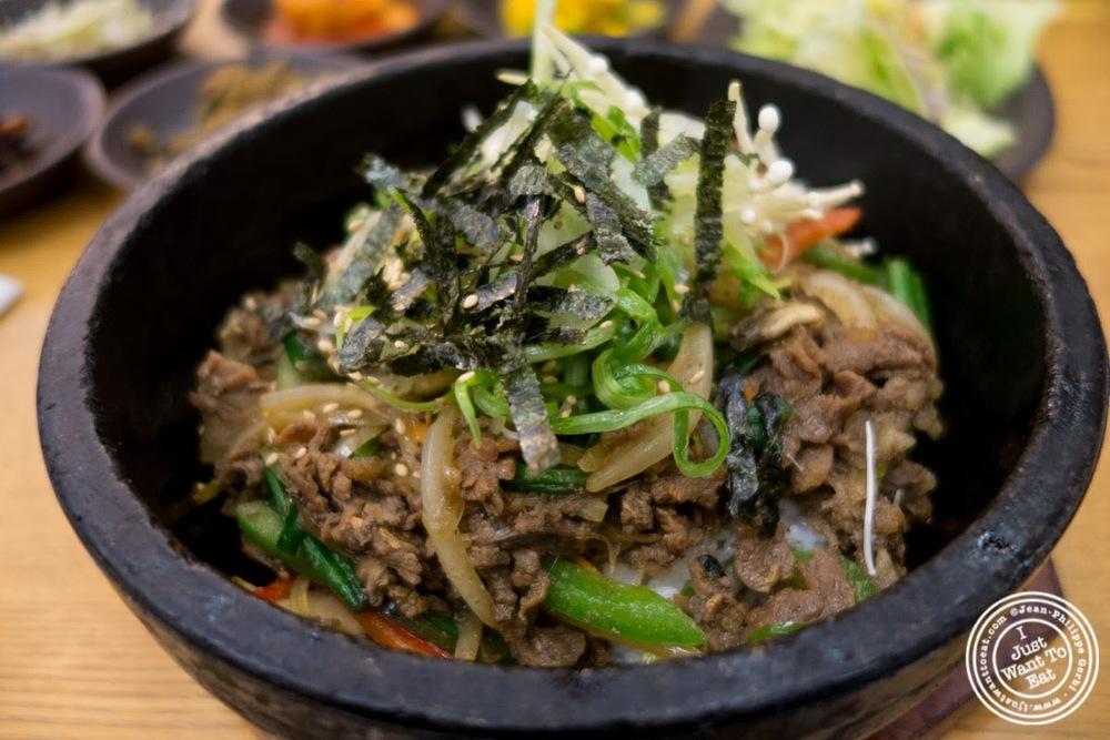 image of bulgogi bibimbap at Korea spoon in KTown NYC, New York