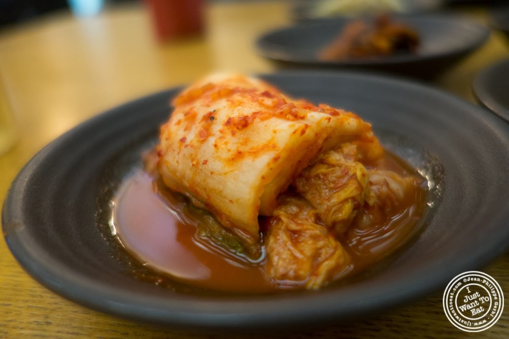 image of kimchi banchan at Korea spoon in KTown NYC, New York
