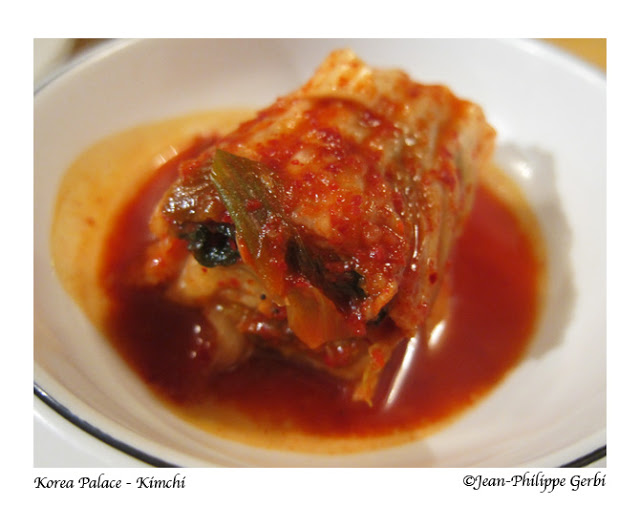 Image of Kimchi at Korea Palace restaurant Midtown East NYC, New York